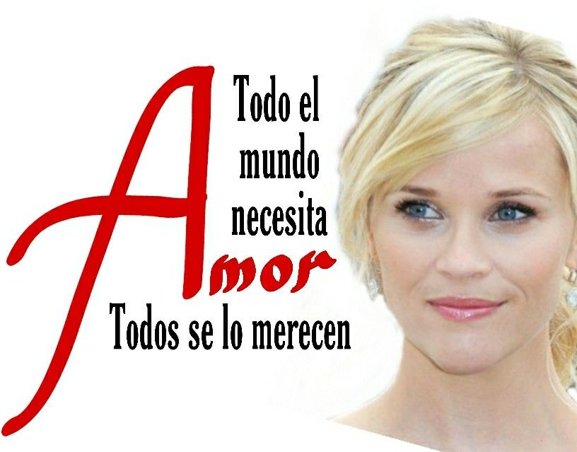 Cita de Reese Witherspoon: Amor