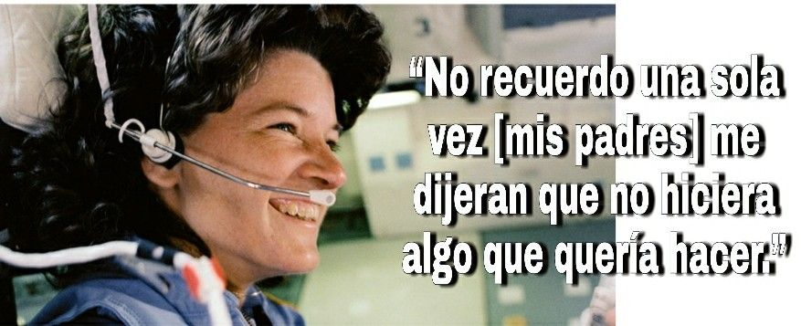 Cita de Sally Ride: No recuerdo